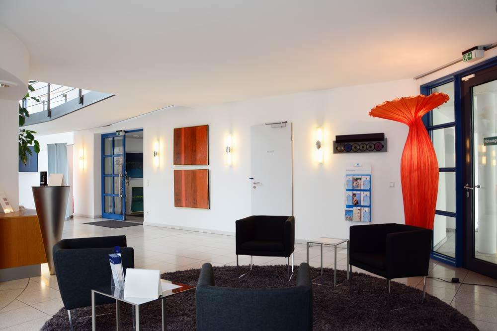 Eingangsbereich der Jungbrunnen-Klinik