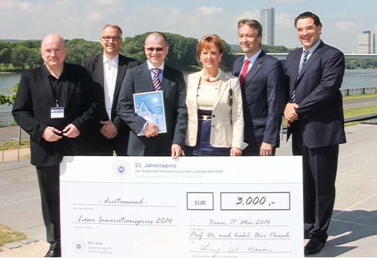 23. Jahrestagung der Deutschen Dermatologischen Lasergesellschaft in Bonn