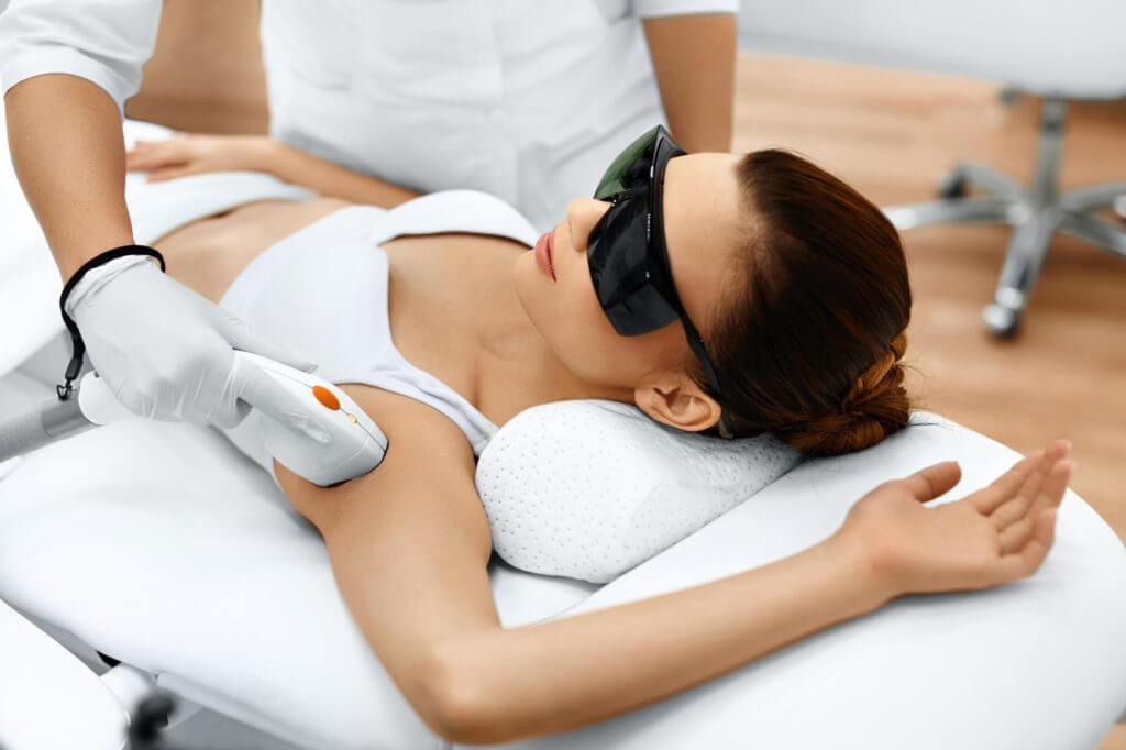 Dioden Laser-Haarentfernung