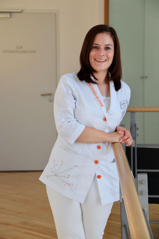 Eva Weidlich arbeitet in der Jungbrunnen-Klinik als medizinische Fachangestellte