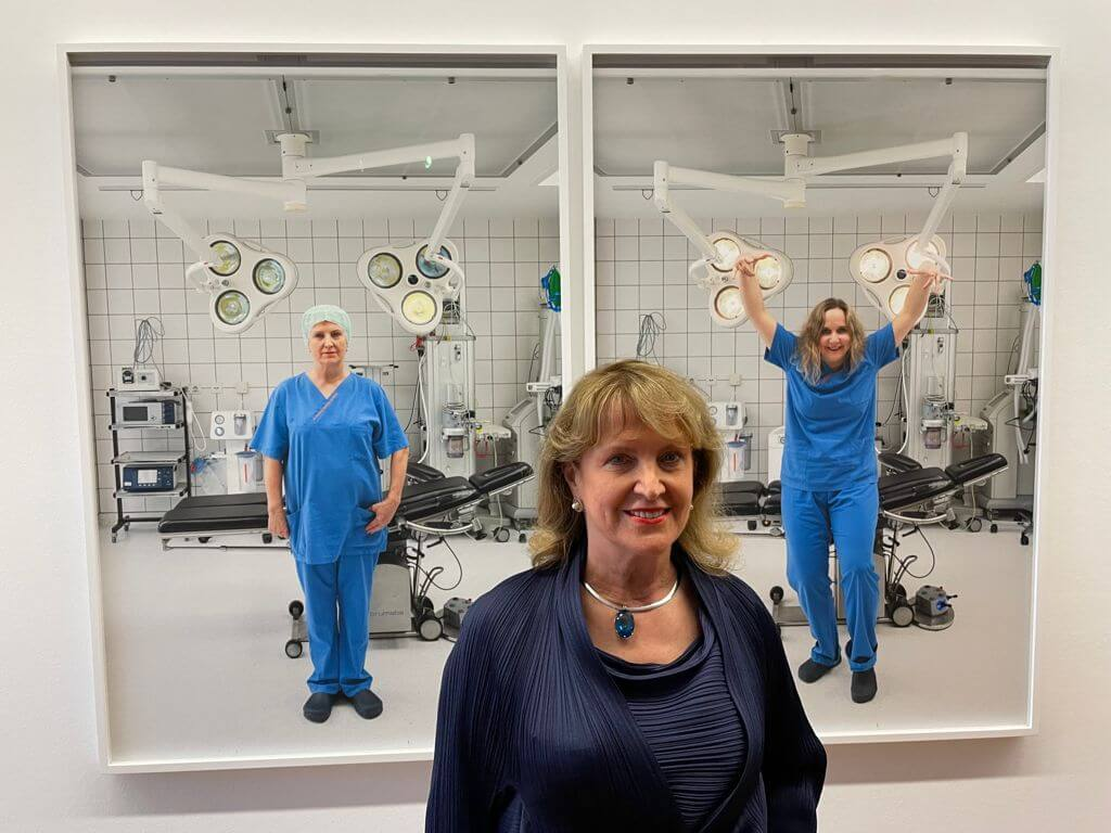 Jungbrunnen-Klinik macht Kunst